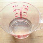 水(150ml)