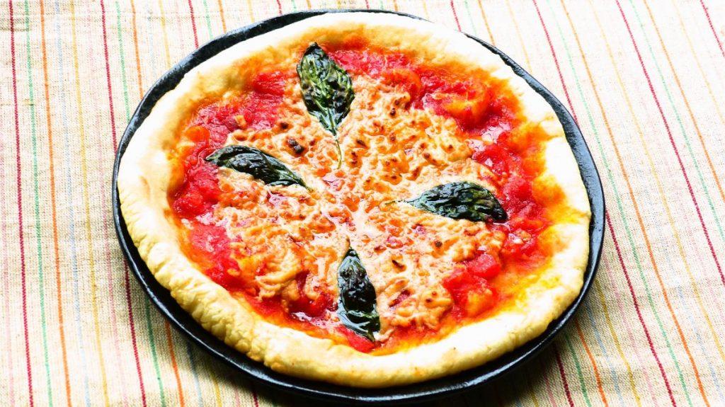 ヴィーガンマルゲリータピザ