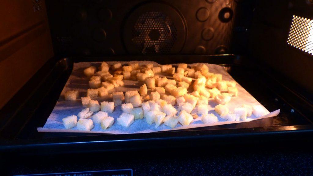 170°に加熱したオーブンで10~13分焼く